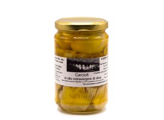 Carciofi in olio extravergine di oliva