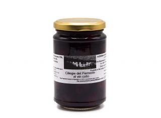 Ciliegie del Piemonte al vin cotto