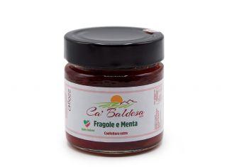 Confettura extra di fragole e menta