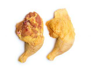 Coscia e sovracoscia di pollo