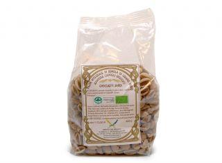 Gnocchetti sardi integrali di semola di grano duro Senatore Cappelli macinato a pietra