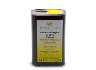 Olio extravergine di oliva Podere Cunina in latta