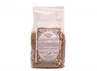Stelline integrali con farina Mix grani antichi tipo 2 macinati a pietra