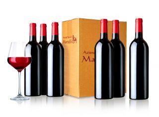 Wine Box 6 bottiglie Martelli