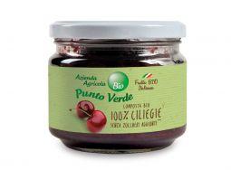 Composta di ciliege senza zuccheri